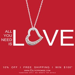 online irish jewelry store plans promotions ahead of valentine's day, Ideas