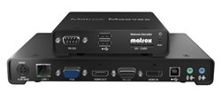 New Recording and Fail-safe Features for Matrox Maevex H.264 Encoders/Decoders