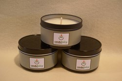 Travel Tin Candles from Candle Krazy
