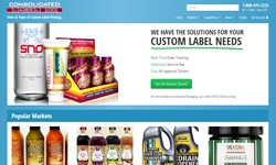 Consolidated Label New Website
