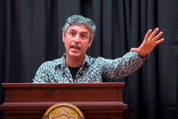 Reza Aslan spent the day at The Hun School of Princeton as a guest in the Centennial Speaker Series: The Next 100 Years.