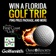Florida Golf Trip & PING Golf Give-Away Announced by Tee Times USA...