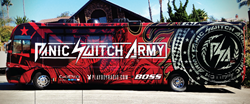 Panic Switch Army and Chase Authentics Retail NASCAR Rig