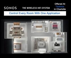 Wireless Sound Installation From Tecknos - Charlotte