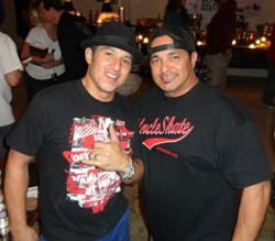 Christian Hosoi and Jeff Araiza
