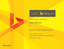 Yahoo Bing Network  Bing Ads Certification