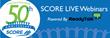 SCORE 50th Anniversary Logo