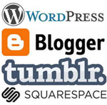 WordPress vs Blogger (BlogSpot) vs Tumblr vs Squarespace