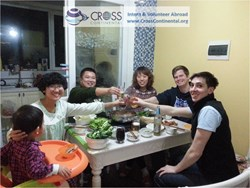 Volunteer Travellers Spending Chinese New Year in China with Chinese Host Families