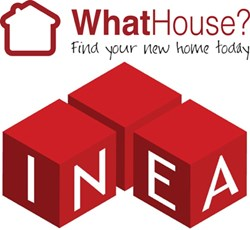 Whathouse.co.uk and INEA logos