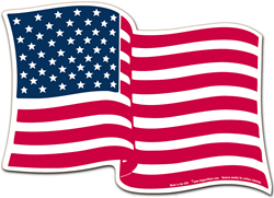 US Flag Magnet for vehicles or magnetic white boards