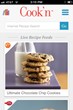 Cook'n Recipe App Start Page