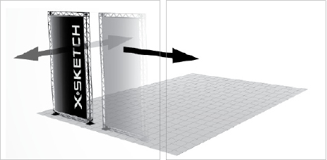 Exhibition Stand Sketch : Exhibition stand design t systems uk