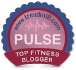 PULSE by Treadmill.com Top Fitness Blogger Badge