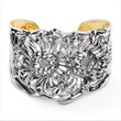 The Chrysanthemum Cuff is a favorite among fans of Repousse' Jewelry by Galmer.