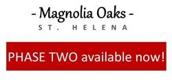 Magnolia Oaks St. Helena Ca.