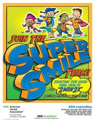 Remember 2x2! Brush 2 minutes 2 times a day for a super smile!