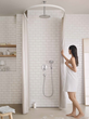 Hansgrohe HG SHOWER 04345000 C 100 AIR Green 3-Jet Handshower