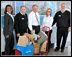 BMW Team Donates to Loaves & Fishes