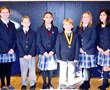 Finalists in the Everest Academy National Geographic Geography Bee.