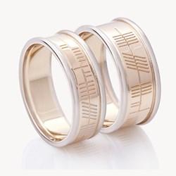 Unique Wedding Ring, personalized wedding band, Celtic Wedding ring, Irish wedding ring, Celtic Promise