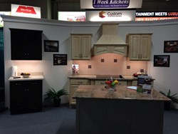 1 Week Kitchens award winning home show display