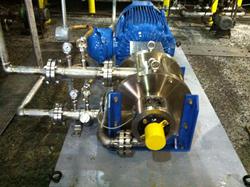 Picture of installed 50 million gallon per year ShockWave Power Biodiesel Reactor