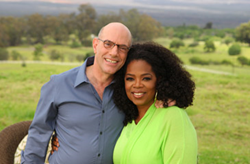 Mark Nepo and Oprah Winfrey