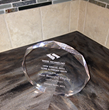 Most beautiful display award give to 1 Week Kitchens Jan 2014.