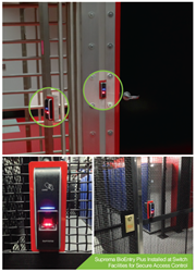 Suprema and Entertech biometric reader deployment at Switch facilities