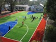synthetic turf, artificial turf, sports turf, colored turf, colored synthetic turf, color artificial turf