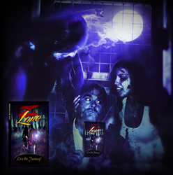 Confronting zombies is an everyday experience for Book By You publisher, Mike Pocock at the Z Love book launch
