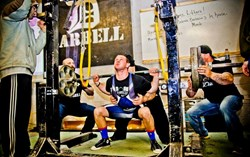 Erik Narvesen competing at the United Powerlifting Association (UPA) Championships