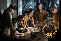 "(l to r) Sam Epstein, John Goodman, George Clooney, Matt Damon and Bob Balaban in Columbia Pictures' action thriller ""The Monuments Men."" © 2013 Columbia Pictures Industries, Inc. and Twentieth Century Fox Film Corporation. All Rights