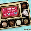 personalized chocolate valentine's day