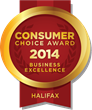 2014 Halifax Consumer Choice Award Winners