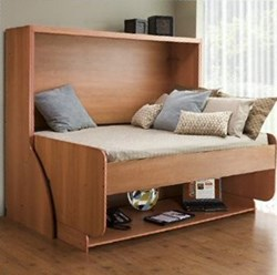 Rockler Introduces Convertible Bed And Desk Kit New Hiddenbed Helps Diyers Build A Fold Out Unit
