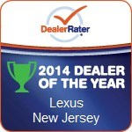 Lexus Dealer of the Year NJ