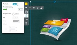 EWC Presenter's new interface improves the ability to create online presentations and infographics