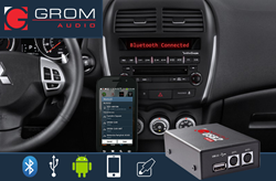 Bluetooth, USB, Android and iPhone Car Kits for Mitsubishi, Peugeot and Citroen