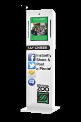 social media photo booth, social media kiosk, social media marketing photo booth, photo booth for sale, buy a photo booth