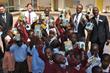 Denver Delegates visit Nairobi to present Nokero solar light bulbs