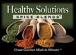 """Healthy Solutions Spice Blends™ Launches New """"Spice Healthy Eat Healthy"""" Consumer Club"""