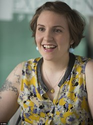 Hannah Horvath (Lena Dunham) Wears Rock My World, Inc's Baby Tooth Necklace