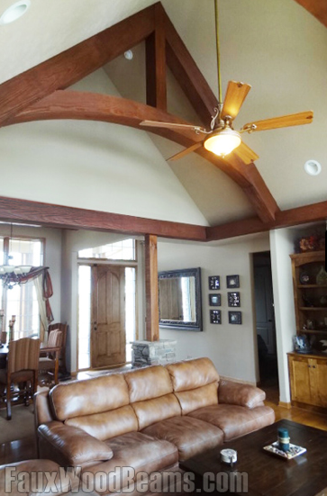 Announces new styles products and colors for Faux wood trusses