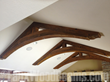 Faux Wood Beam Arches add character and a dramatic focal point to any room.