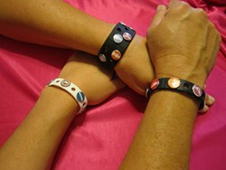 Singles Wristband or Bracelet with new IDentifiers