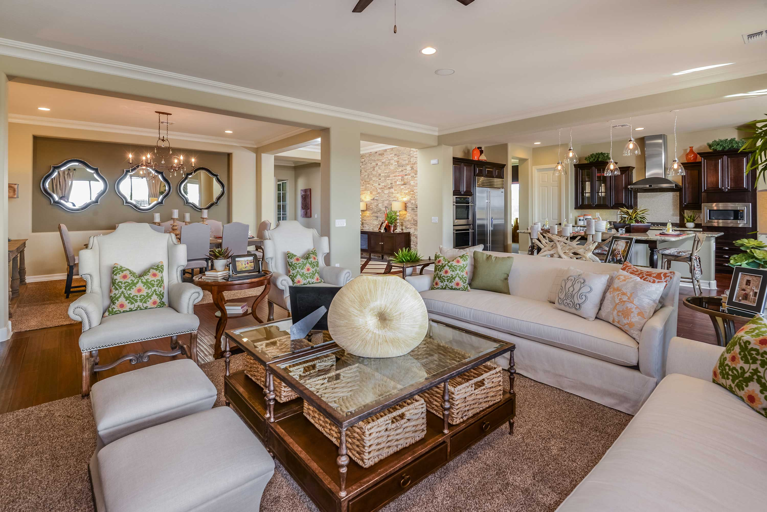 taylor morrison debuts three new collections of homes at the community set against the picturesque backdrop of lake pleasant regional park and the calderwood buttes will offer a series of floor plans in the