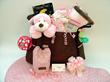 Polka Dot Precious Deluxe Baby Gift Basket