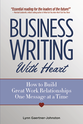 Business Writing With Heart book